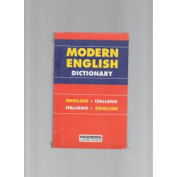 modern english dictionary-english italiano-italiano english